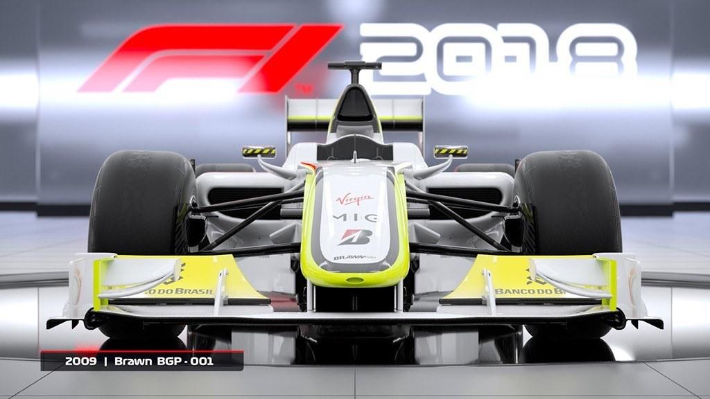 Lista de coches clásicos de F1 2018