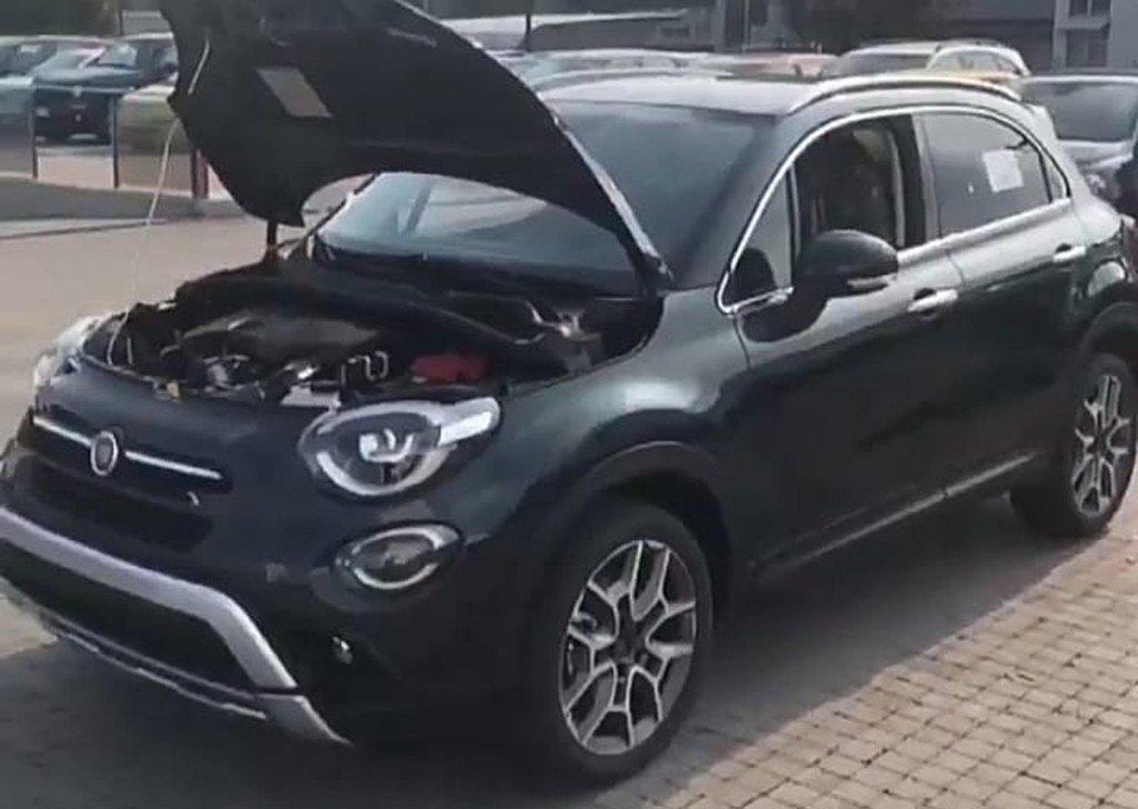Así será el Fiat 500X 2019, ¡el SUV italiano fotografiado al desnudo!