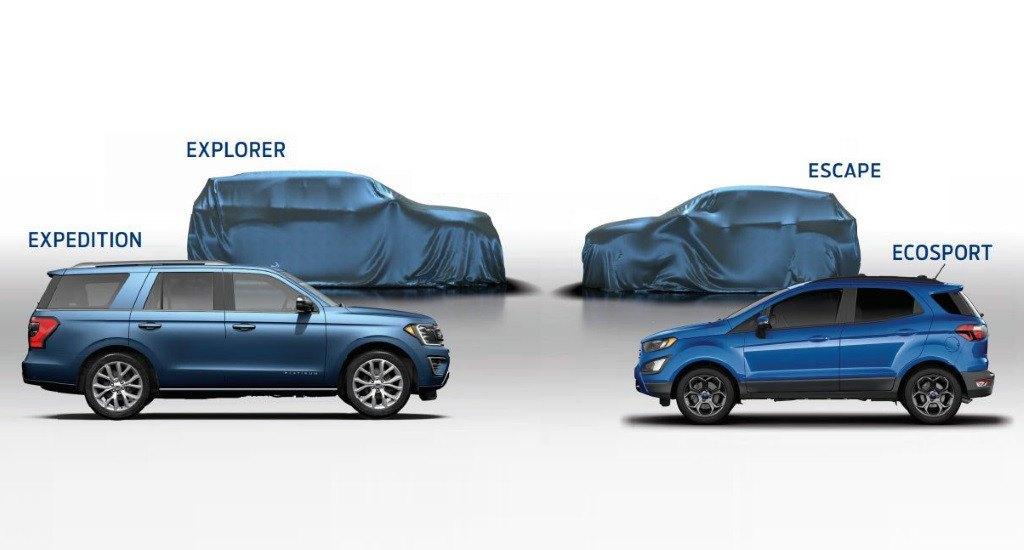 Ford USA adelanta la composición de su futura gama 2020 (casi 100% SUV)