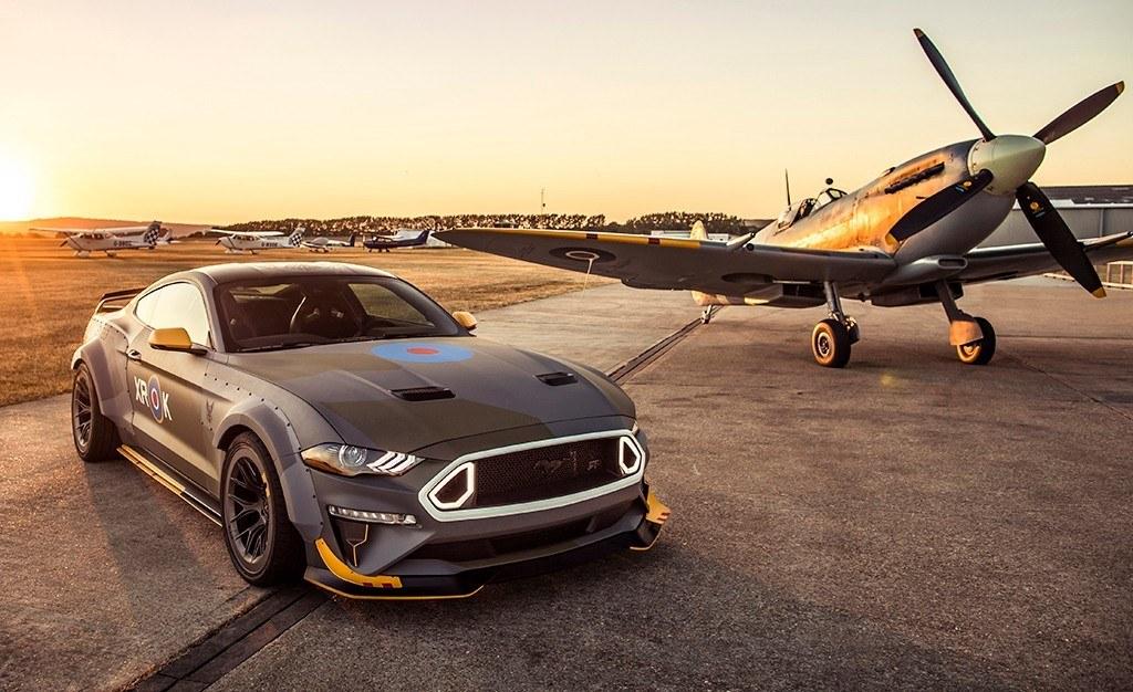 El nuevo Eagle Squadron Mustang GT de Ford y RTR se presenta en sociedad