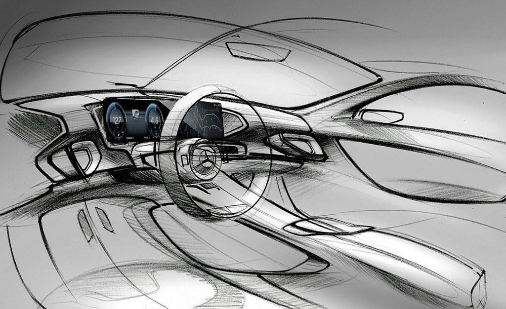 Mercedes adelanta el tecnológico interior del nuevo Clase GLE