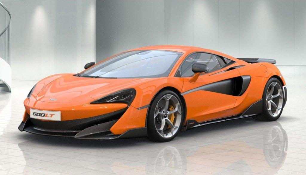 El espectacular McLaren 600 LT ya tiene configurador online