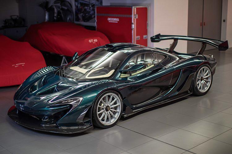 El nuevo McLaren P1 GT de Lanzante desvelado en Goodwood