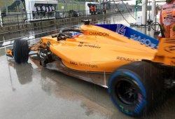 """Alonso: """"Salvamos el sábado un poco gracias a la lluvia"""""""