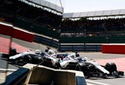 Los Williams saldrán desde el pitlane a causa de un fallo aerodinámico