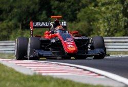 Nikita Mazepin se reivindica en Hungría con su segundo triunfo