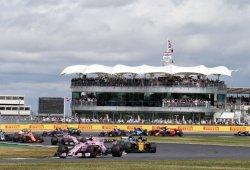 Así queda la parrilla del GP de Gran Bretaña, en la que sólo habrá 17 coches