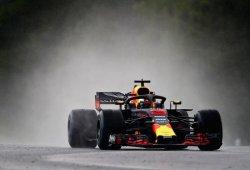 """Ricciardo: """"Stroll trompeó delante de mí, tuve que abortar la vuelta"""""""