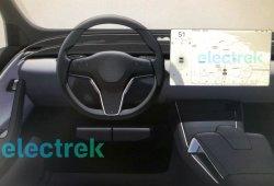 Primeros bocetos de la actualización de los Tesla Model S y X