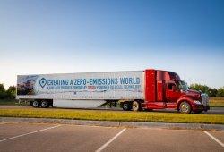 Toyota presenta una nueva versión de su camión de hidrógeno