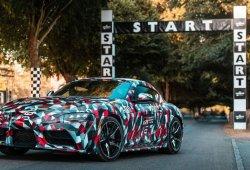 El interior del Toyota Supra cuenta con mucho ADN del BMW Z4