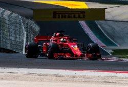 Vettel supera a los Mercedes antes de la clasificación