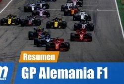 [Vídeo] Resumen del GP de Alemania de F1 2018