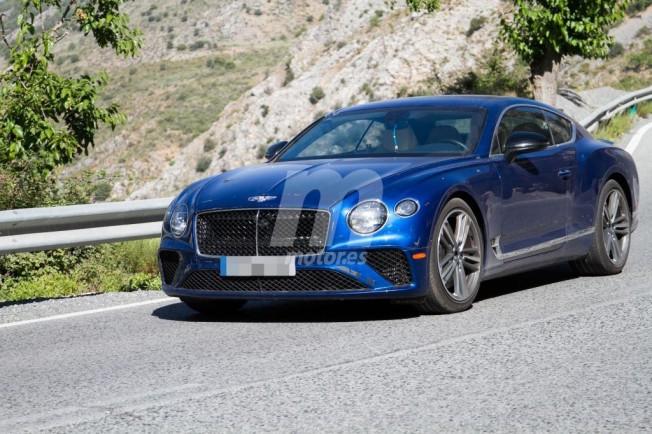Bentley Continental GT Speed 2019 - foto espía