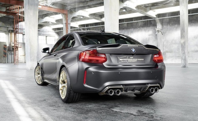 BMW M Performance Parts Concept - posterior