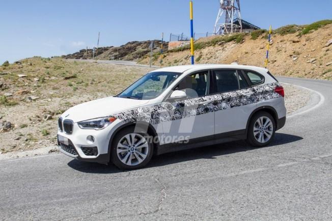 BMW X1 xDrive25e 2019 - foto espía