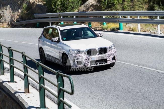 BMW X3 M 2019 - foto espía