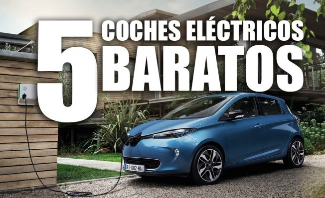 5 coches eléctricos baratos