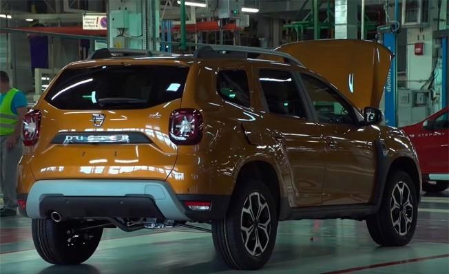 Dacia Duster 2018 - producción