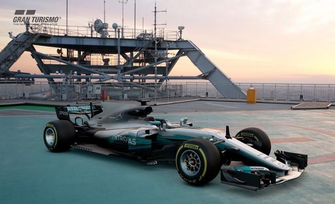 Gran Turismo Sport Mercedes AMG F1 W08