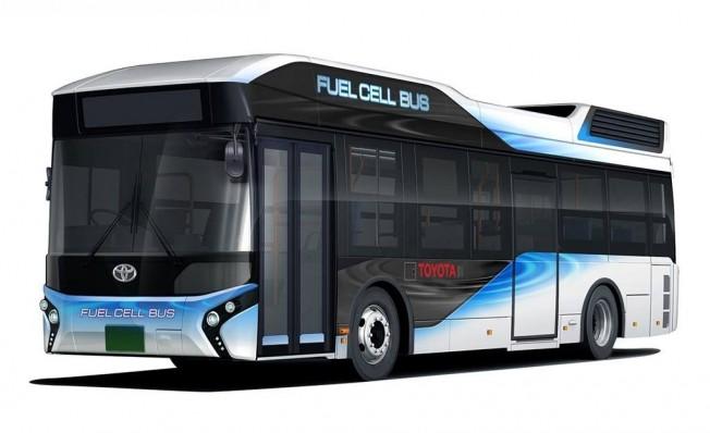 Autobús de hidrógeno de Toyota
