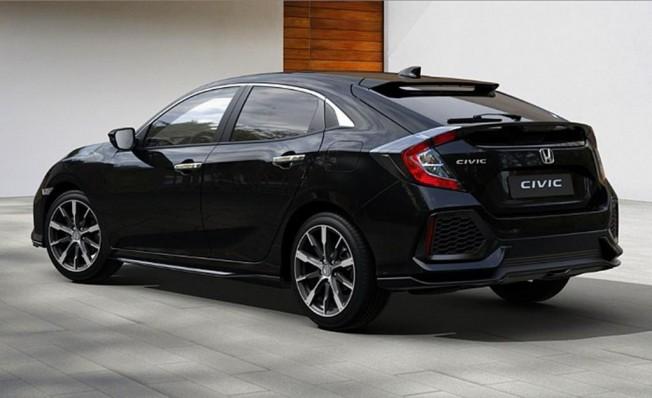 Honda Civic Silver Line - posterior