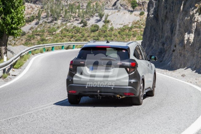 Honda HR-V 2019 - foto espía posterior