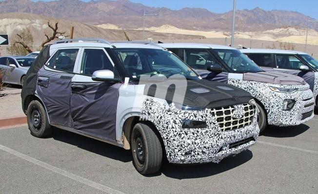 Hyundai A-SUV - foto espía