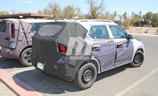 Hyundai A-SUV - foto espía posterior