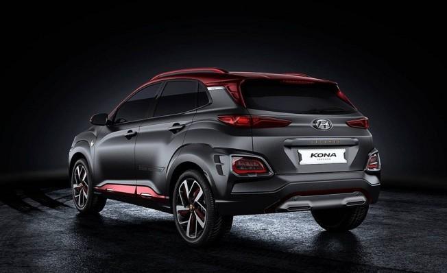Hyundai Kona Iron Man Edition - posterior