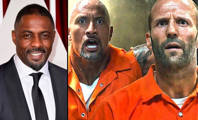 Idris Elba, Dwayne Johnson y Jason Statham