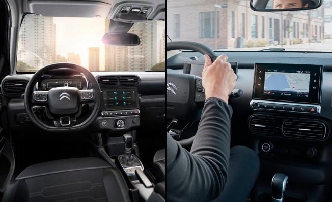 Citroën C4 Cactus - comparativa interior