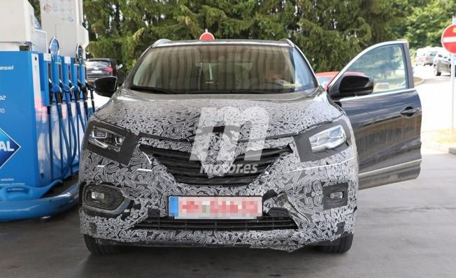 Renault Kadjar 2019 - foto espía frontal