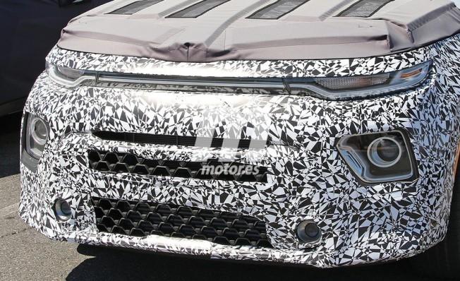 Kia Soul Turbo 2019 - foto espía frontal