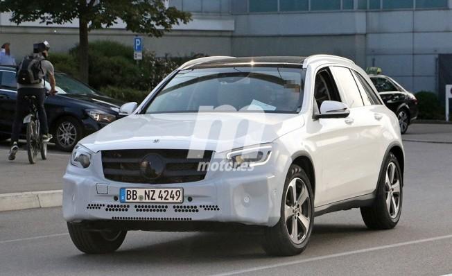Mercedes Clase GLC 2019 - foto espía