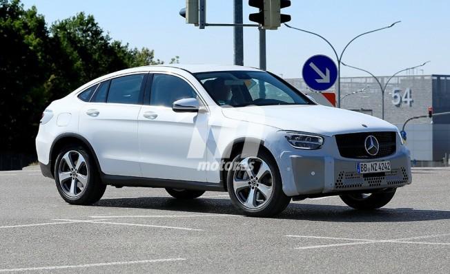 Mercedes Clase GLC Coupé 2019 - foto espía