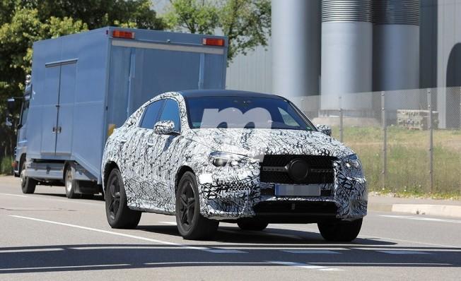 Mercedes Clase GLE Coupé 2020 - foto espía
