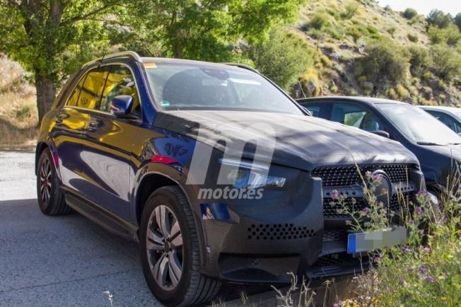 Mercedes Clase GLE híbrido enchufable - foto espía