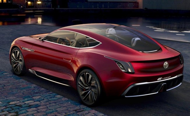 MG E-Motion Concept - posterior