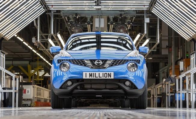 Nissan Juke - producción