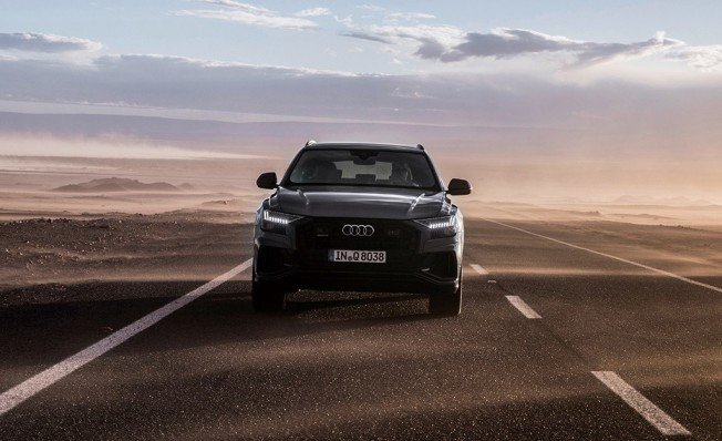 Audi Q8 - frontal
