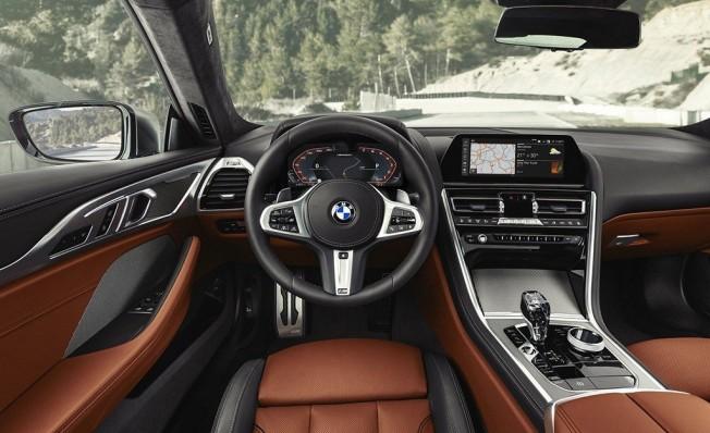 BMW Serie 8 2018 - interior