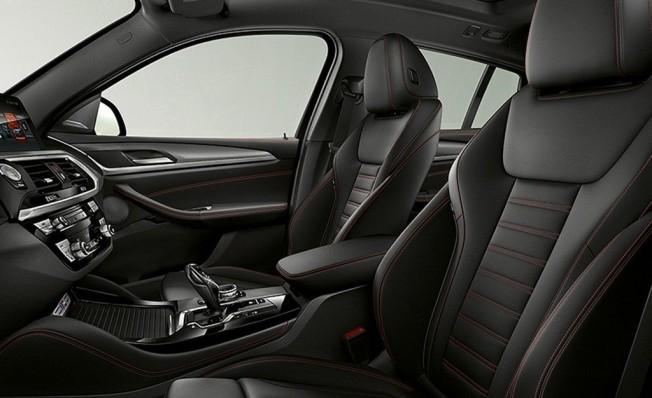 BMW X40 M40i - interior