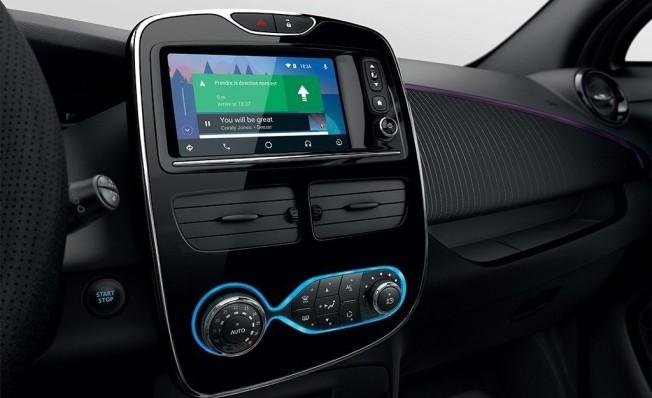 Renault Zoe 2018 - interior