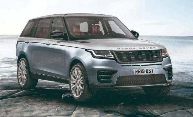 Range Rover 2021 - recreación