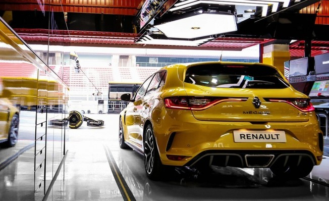 Renault Mégane RS Trophy 2019 - posterior