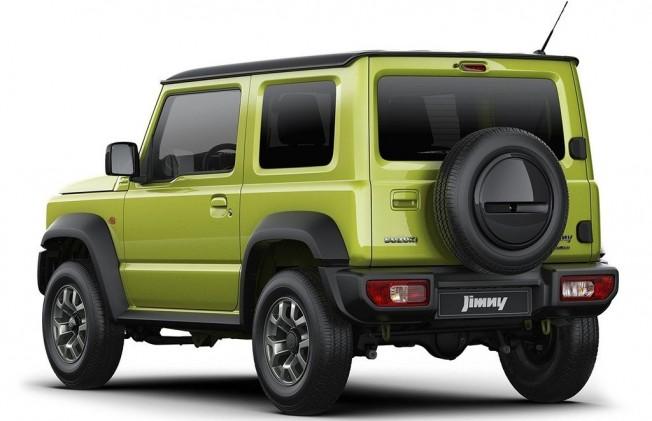 Suzuki Jimny 2019 - posterior