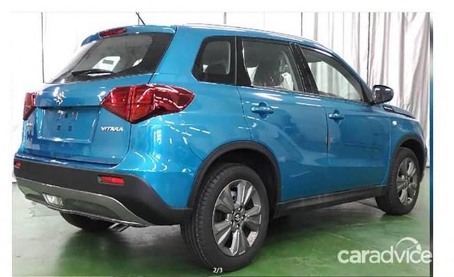 Suzuki Vitara 2019 - foto espía posterior