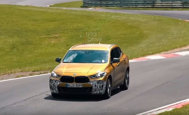 BMW X2 M35i xDrive - foto espía