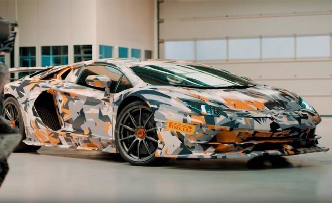Lamborghini Aventador SVJ - adelanto